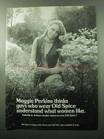 1969 Old Spice Cologne Ad - Maggie Perkins Thinks