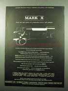 1969 Interarms Mark X Ad - Another Precision Product