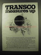 1969 Transontinental Gas Pipe Line Ad - Transco
