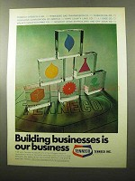 1969 Tenneco Inc Ad - Building Businesses