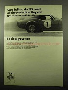 1969 Shell Super Shell Motor Oil Ad - All Protection
