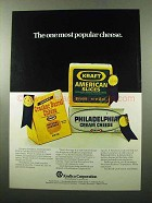 1969 Kraftco Corporation Ad - Kraft Cheese - Popular
