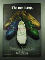 1969 Bostonian Spectrum Collection Shoes Ad - Next Step