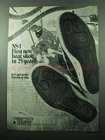 1969 Converse NS-1 Boat Shoe Ad - 25 Years