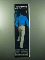 1969 Sears Perma-Prest Jeans Ad - Keep up With Jeanses