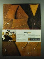 1969 Sears King's Road Collection Ad - Country Brown