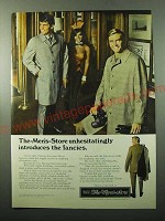 1969 Sears Fancies All-Weather Coats Ad