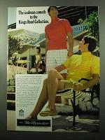1969 Sears King's Road Collection Ad - Icedman Cometh
