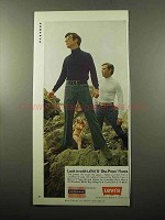 1969 Levi's Sta-Prest Flares Ad - Lock In With