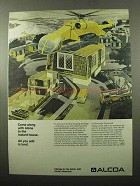 1969 Alcoa Aluminum  Ad - To The Instant House