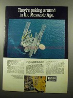 1969 Clark Electric Forklift Ad - The Mesozoic Age