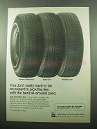 1969 FMC Dynacor Rayon Tire Cord Ad - Expert to Pick