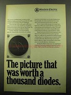 1969 Western Electric Telephone Ad - Picture Worth