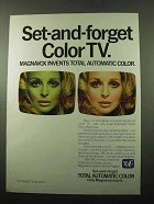 1969 Magnavox TV Ad - Set-and-Forget Color TV