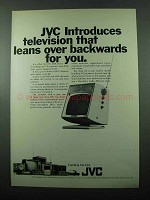1969 JVC 3210 Television Ad - Leans Over Backwards