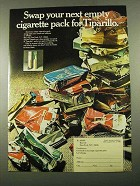1969 Tiparillo Cigar Ad - Swap Your Next Empty Pack