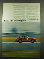 1969 Porsche Car Ad - Racing - The Ultimate Proof