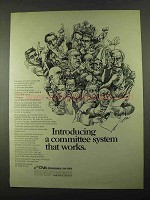 1969 CNA Insurance Ad - A Committee System Works