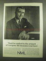 1969 NML Northwestern Mutual Life Ad - Don't be Misled