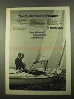 1969 Manufacturers Hanover Trust Ad - Performance
