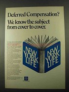 1969 New York Life Ad - Deferred Compensation