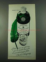 1969 Tanqueray Gin Ad - If This Were Ordinary