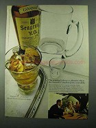 1969 Seagram's V.O. Canadian Whisky Ad - a Pleasure
