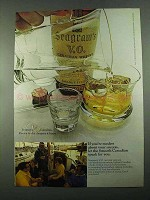 1969 Seagram's V.O. Canadian Whisky Ad - Modest