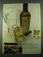 1969 Seagram's V.O. Canadian Whisky Ad - Any Party
