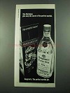 1969 Seagram's Extra Dry Gin Ad - This Christmas