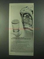 1969 Seagram's Crown Royal Bourbon Ad - Make Nervous