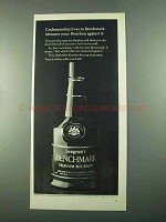 1969 Seagram's Benchmark Bourbon Ad