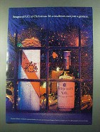 1969 Seagram's V.O. Canadian Whisky Ad - At Christmas