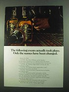 1969 Chivas Regal Scotch Ad - The Following Events