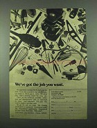 1969 U.S. Army Ad - We've Got the Job You Want