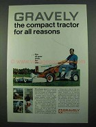 1969 Gravely Convertible Tractor Ad - For All Reasons