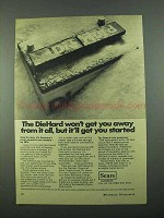1969 Sears DieHard Battery Ad - Get You Started