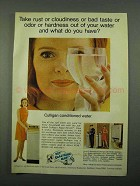 1969 Culligan Water Conditioner Ad - Rust or Cloudiness