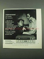 1969 Kenwood Receiver Ad - Is Made For Lovers