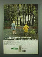 1969 Lennox Air Conditioning Ad - More Families Own