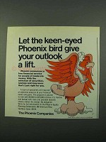 1969 The Phoenix Companies Ad - Give Outlook a Lift