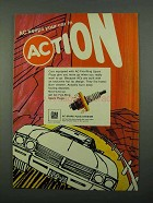 1969 AC Fire-Ring Spark Plugs Ad - Keeps in Action