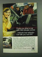 1969 GM Four-Season Climate Control Ad - Once You Drive