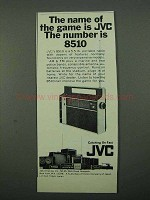 1969 JVC 8510 Radio Ad - The Name of The Game