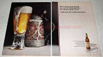 1969 Schaefer Beer Ad - Practicing the Art of Brewing