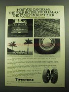 1976 Firestone 500 & Town & Country Wide Oval Tires Ad
