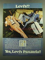 1976 Levi's Panatela Slacks and Tops Ad - Levi's??