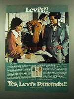 1976 Levi's Advertiesment - Panatela Slacks and Tops