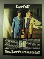 1976 Levi's Panatela Slacks and Tops Ad