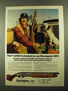 1976 Remington 1100 Shotgun Ad - Jim Catfish Hunter